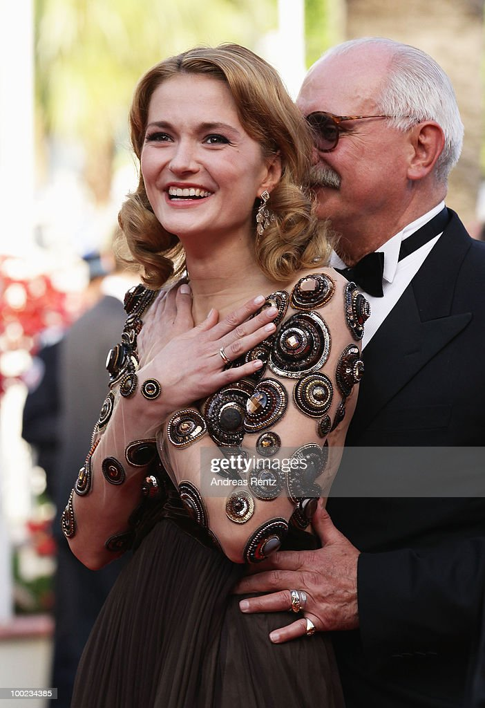 Actress Nadezhda Mihalkova attends the 'The Exodus - Burnt By The Sun' Premiere at the Palais des Festivals during the 63rd Annual Cannes Film Festival on May 22, 2010 in Cannes, France.