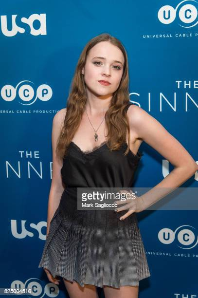 Actress Nadia Alexander attends the 'The Sinner' Series Premiere Screening at the Crosby Street Hotel on July 31 2017 in New York City