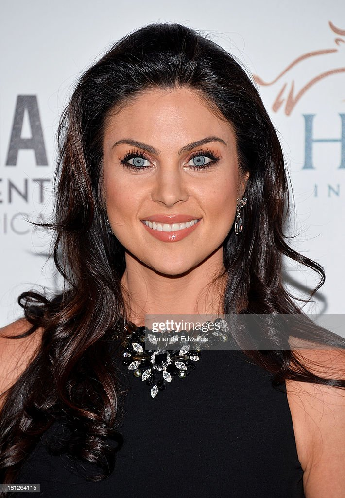 Actress Nadia Bjorlin arrives at the 2nd Annual Beyond Hunger: A Place At The Table Benefit Honoring Susan Sarandon at Montage Beverly Hills on September 19, 2013 in Beverly Hills, California.