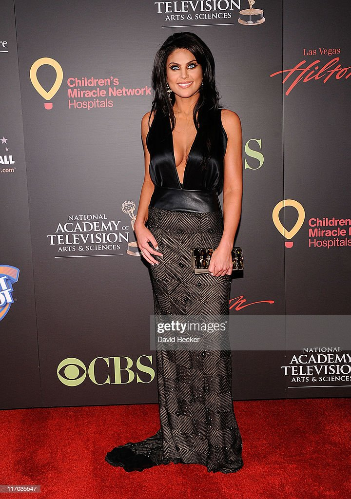 Actress Nadia Bjorlin arrives at the 38th Annual Daytime Entertainment Emmy Awards held at the Las Vegas Hilton on June 19, 2011 in Las Vegas, Nevada.