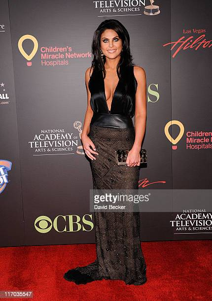 Actress Nadia Bjorlin arrives at the 38th Annual Daytime Entertainment Emmy Awards held at the Las Vegas Hilton on June 19 2011 in Las Vegas Nevada