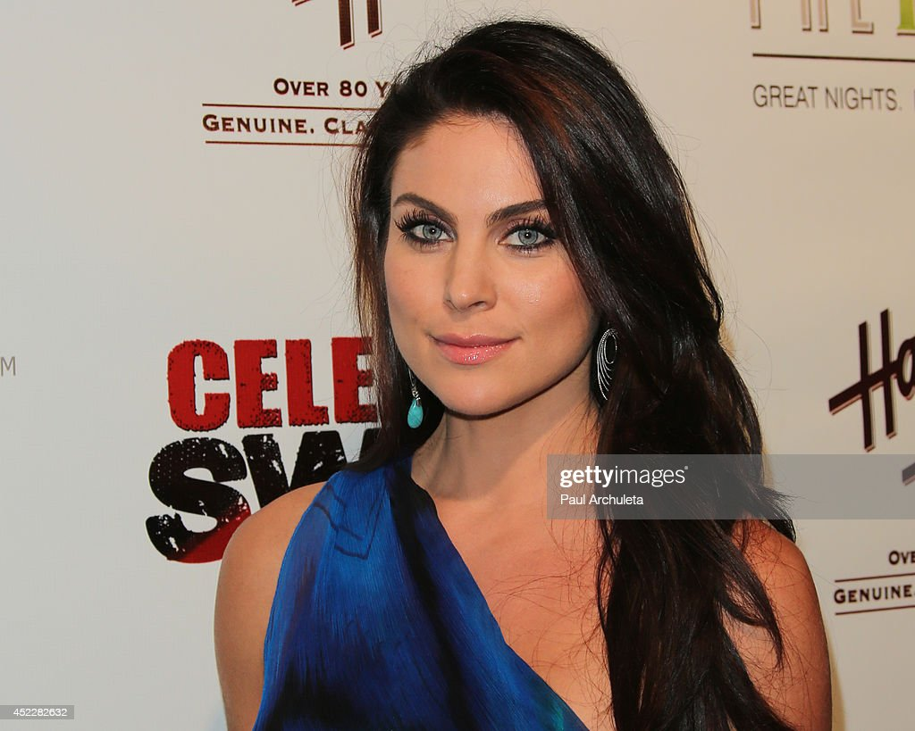 Actress Nadia Bjorlin attends Evander Holyfield's ESPYS Awards after party on July 16, 2014 in Los Angeles, California.