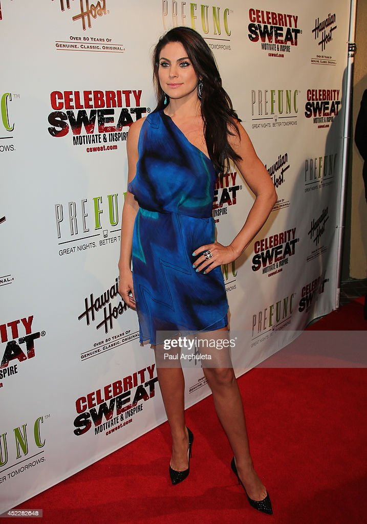 Actress <a gi-track='captionPersonalityLinkClicked' href=/galleries/search?phrase=Nadia+Bjorlin&family=editorial&specificpeople=2159820 ng-click='$event.stopPropagation()'>Nadia Bjorlin</a> attends Evander Holyfield's ESPYS Awards after party on July 16, 2014 in Los Angeles, California.
