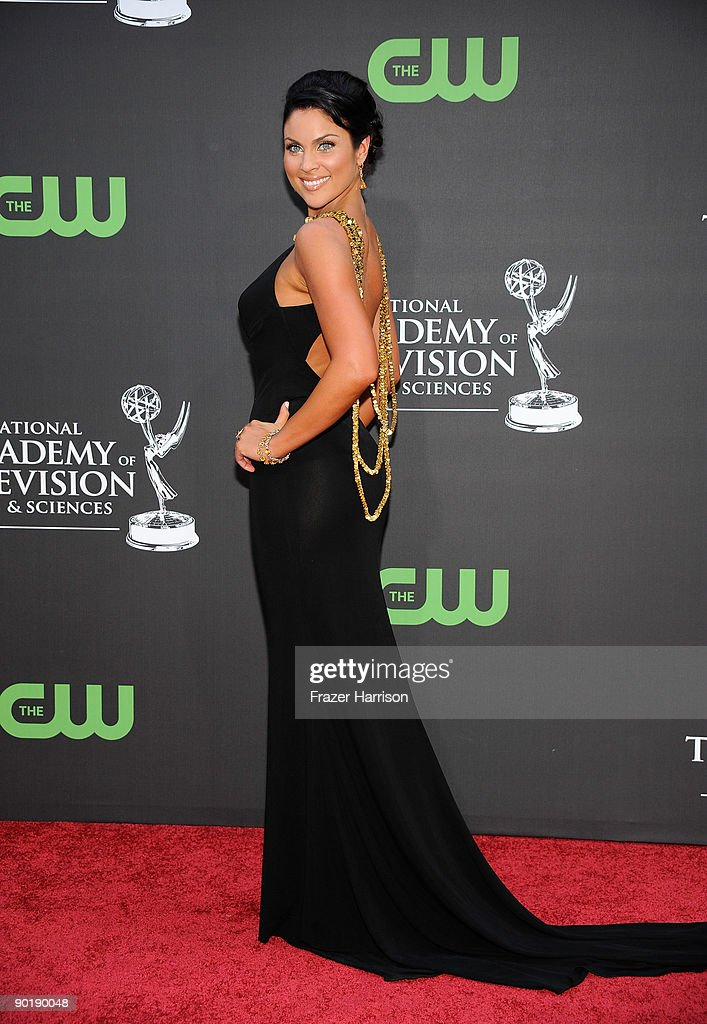 Actress Nadia Bjorlin attends the 36th Annual Daytime Emmy Awards at The Orpheum Theatre on August 30, 2009 in Los Angeles, California.