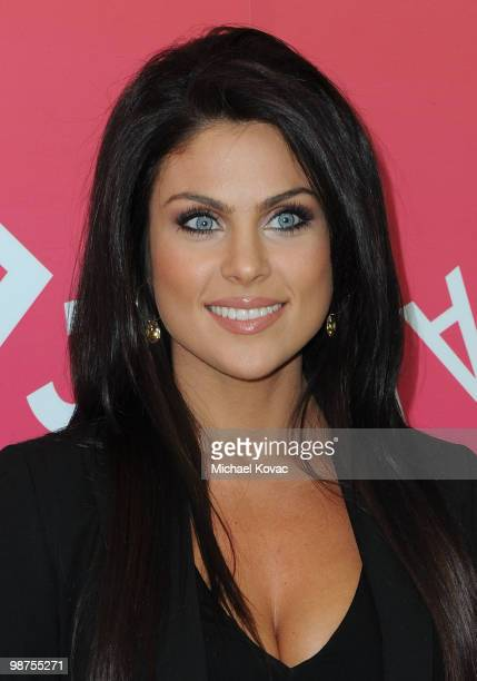 Actress Nadia Bjorlin attends the book launch party for 'Days Of Our Lives' Executive Producer Ken Corday at The Paley Center for Media on April 29...