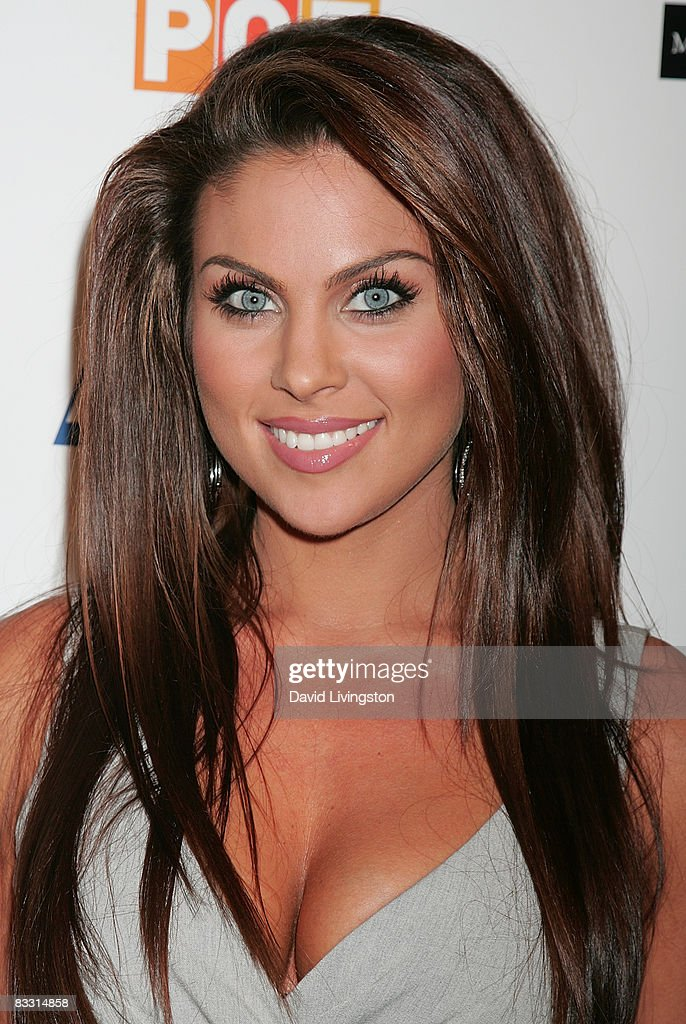 Actress Nadia Bjorlin attends the 'Soaps In The City' fundraiser at the East West Lounge on October 16, 2008 in West Hollywood, California.