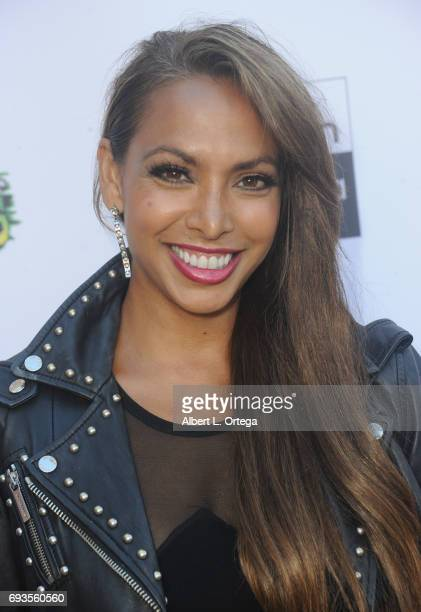 Actress Nadia Dawn Dhawan arrives for Etheria Film Night held at The Egyptian Theatre on June 3 2017 in Los Angeles California