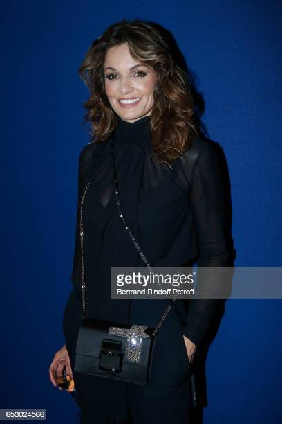 Actress Nadia Fares attends the 'Chacun sa vie' Paris Premiere at Cinema UGC Normandie on March 13 2017 in Paris France
