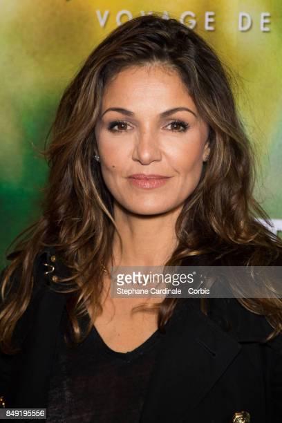Actress Nadia Fares attends the 'Gauguin Voyage De Tahiti' Paris Premiere at Cinema Gaumont Capucine on September 18 2017 in Paris France
