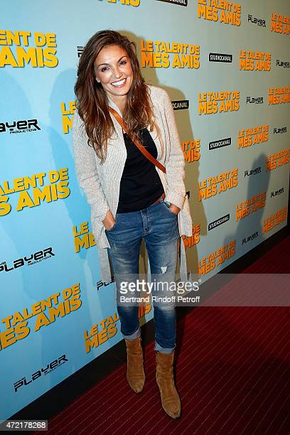 Actress Nadia Fares in new TF1 serie 'mes amis mes amours mes emmerdes' attends 'Le Talent De Mes Amis' Paris Premiere At Bobino on May 4 2015 in...