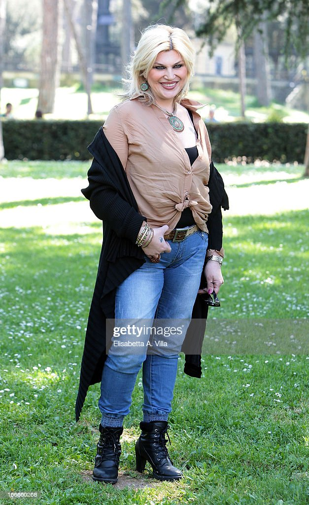 Actress Nadia Rinaldi attends 'Razza Bastarda' photocall at Villa Borghese on April 15, 2013 in Rome, Italy.