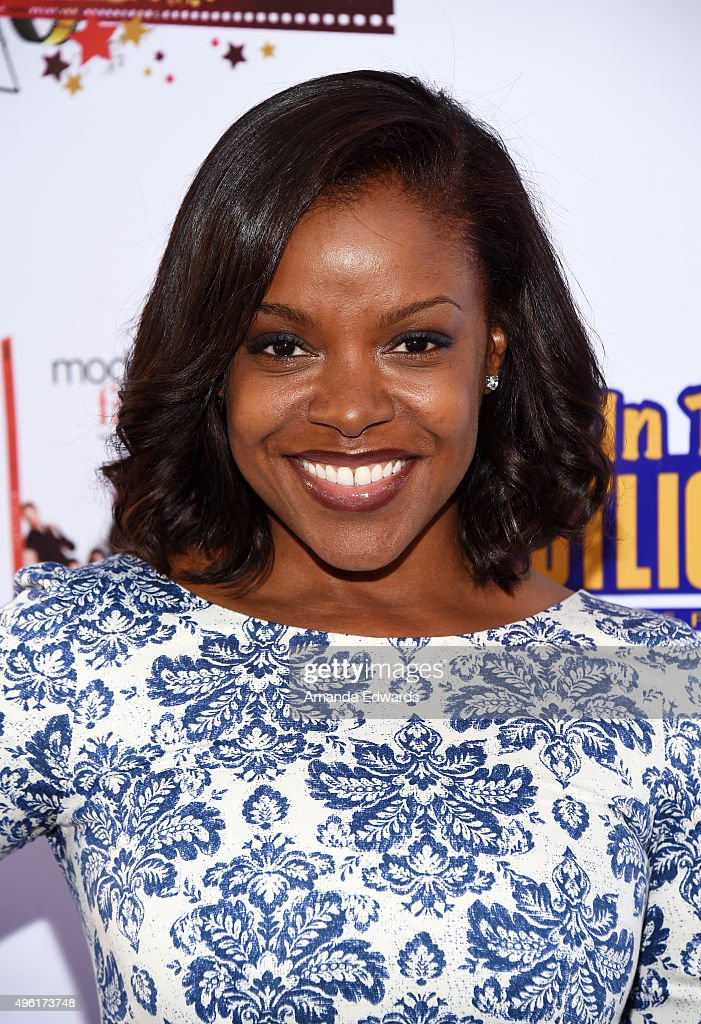 Actress Nadine Ellis arrives at the Kids In The Spotlight's Movies By Kids For Kids Film Awards at Fox Studios on November 7 2015 in Los Angeles...