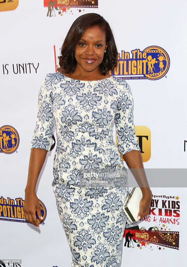 Actress Nadine Ellis attends the Kids In The Spotlight's Movies By Kids For Kids Film Awards at Fox Studios on November 7 2015 in Los Angeles...