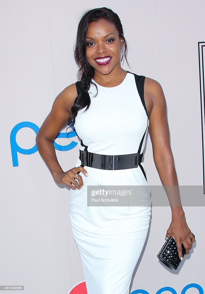 Actress Nadine Ellis attends the Pre 'BET Awards' Dinner at Milk Studios on June 28 2014 in Los Angeles California