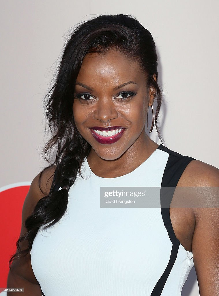 Actress Nadine Ellis attends the 'PRE' BET Awards Dinner hosted by BET Networks' Chairman and CEO Debra L Lee at Milk Studios on June 28 2014 in...