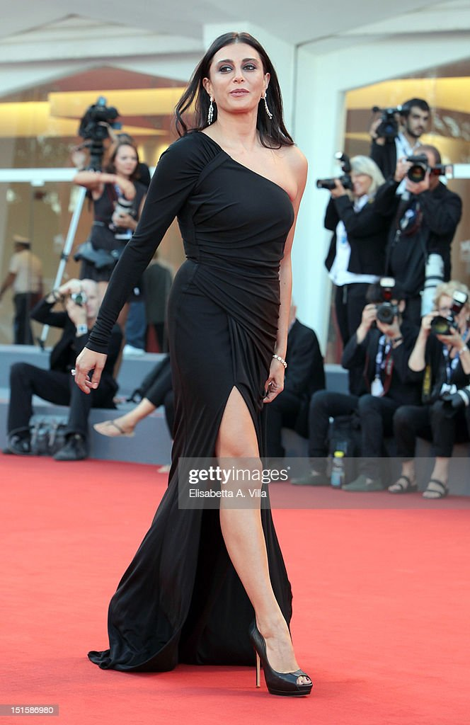 Actress Nadine Labaki attends the Award Ceremony And 'L'Homme Qui Rit' Premiere during The 69th Venice Film Festival at the Palazzo del Cinema on September 8, 2012 in Venice, Italy.