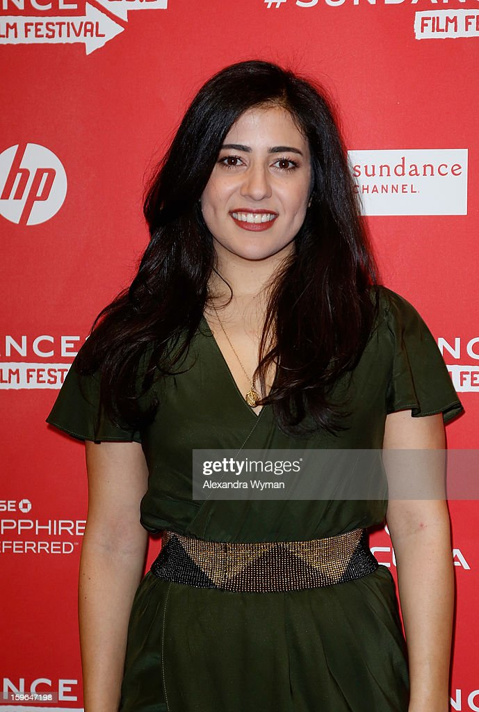 Actress Nadine Malouf attends the 'May In The Summer' premiere during the 2013 Sundance Film Festival at Eccles Center Theatre on January 17, 2013 in Park City, Utah.