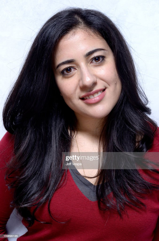 Actress Nadine Malouf poses for a portrait during the 2013 Sundance Film Festival at the WireImage Portrait Studio at Village At The Lift on January 18, 2013 in Park City, Utah.