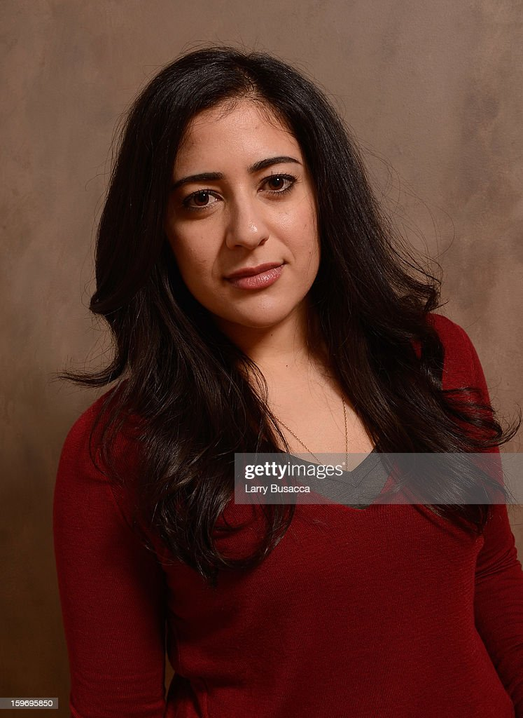Actress Nadine Malouf poses for a portrait during the 2013 Sundance Film Festival at the Getty Images Portrait Studio at Village at the Lift on January 18, 2013 in Park City, Utah.