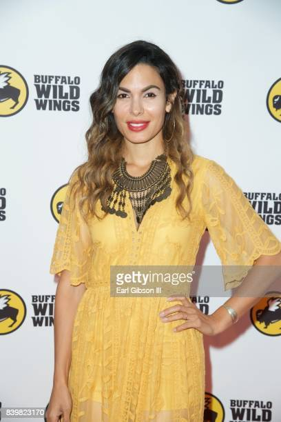 Actress Nadine Valazquez attends the Buffalo Wild Wings Opening In Koreatown at Buffalo Wild Wings on August 26 2017 in Los Angeles California
