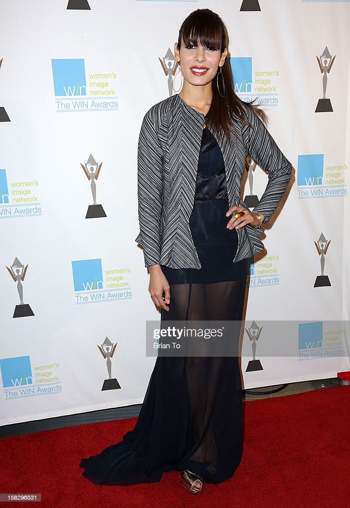 Actress Nadine Velazquez attends The 14th a annual Women's Image Network (WIN) awards at Paramount Theater on the Paramount Studios lot on December 12, 2012 in Hollywood, California.