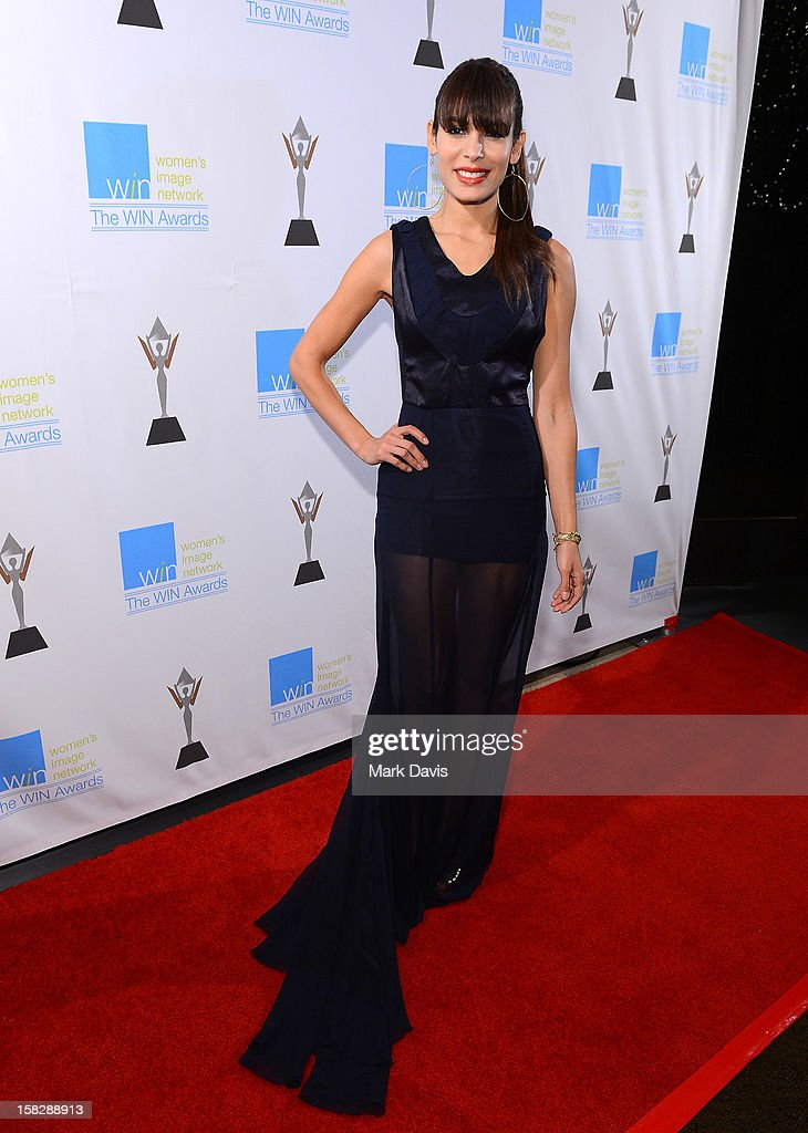 Actress Nadine Velazquez attends The 14th Annual Women's Image Network Awards at Paramount Theater on the Paramount Studios lot on December 12, 2012 in Hollywood, California.
