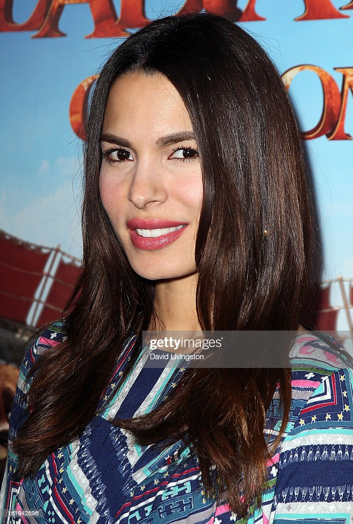 Actress Nadine Velazquez attends the 8th Annual Los Angeles Italia Film, Fashion and Art Festival Opening Night Gala at the Mann Chinese 6 on February 17, 2013 in Los Angeles, California.
