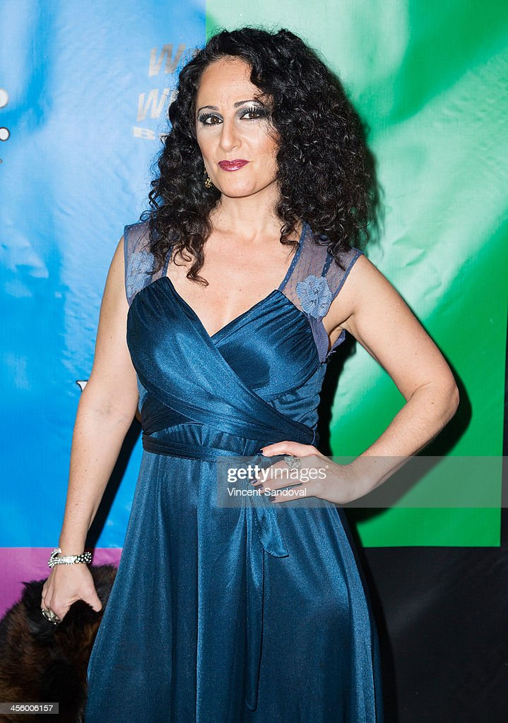 Actress Nadya Ginsburg attends the World of Wonder's 1st Annual WOWie Awards at The Globe Theatre on December 12, 2013 in Universal City, California.