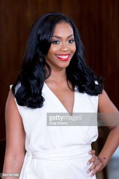 Actress Nafessa Williams attends the 14th Annual Brass Ring Awards Dinner at The Beverly Hilton Hotel on June 8 2017 in Beverly Hills California