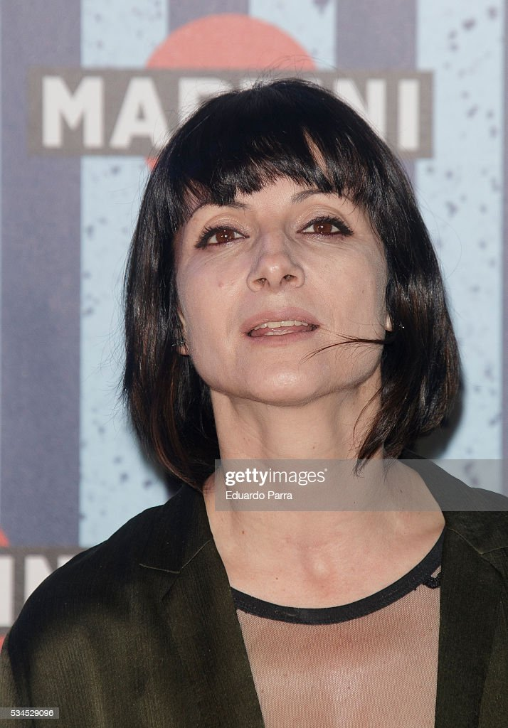 Actress <a gi-track='captionPersonalityLinkClicked' href=/galleries/search?phrase=Najwa+Nimri&family=editorial&specificpeople=578073 ng-click='$event.stopPropagation()'>Najwa Nimri</a> attends the Martini Terrace party at Madrid Citi Hall on May 26, 2016 in Madrid, Spain.