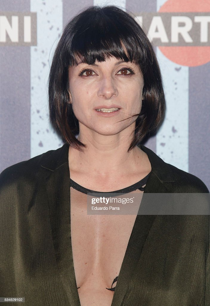 Actress Najwa Nimri attends the Martini Terrace party at Madrid Citi Hall on May 26, 2016 in Madrid, Spain.