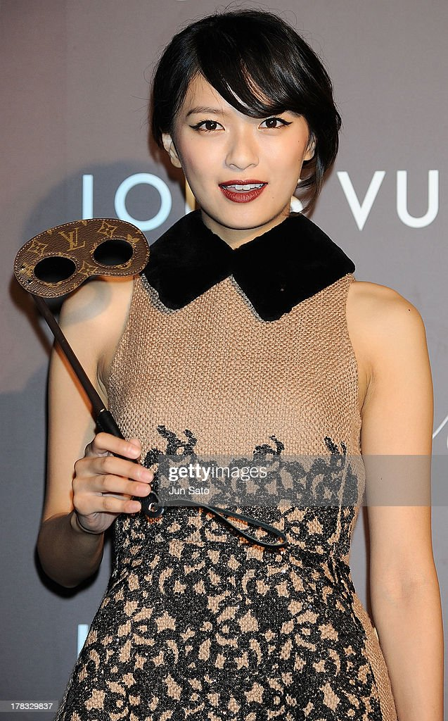 Actress Nana Eikura attends Louis Vuitton 'Timeless Muses' exhibition at the Tokyo Station Hotel on August 29, 2013 in Tokyo, Japan.