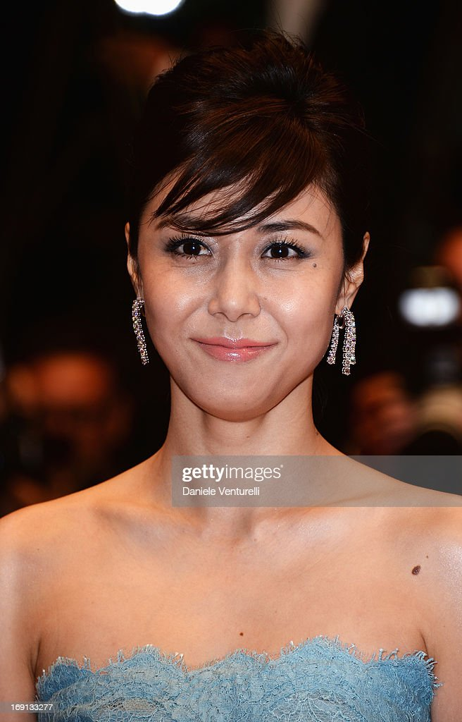 Actress Nanako Matsushima attends the Premiere of 'Wara No Tate' (Shield of Straw) during the 66th Annual Cannes Film Festival at the Palais des Festivals on May 20, 2013 in Cannes, France.