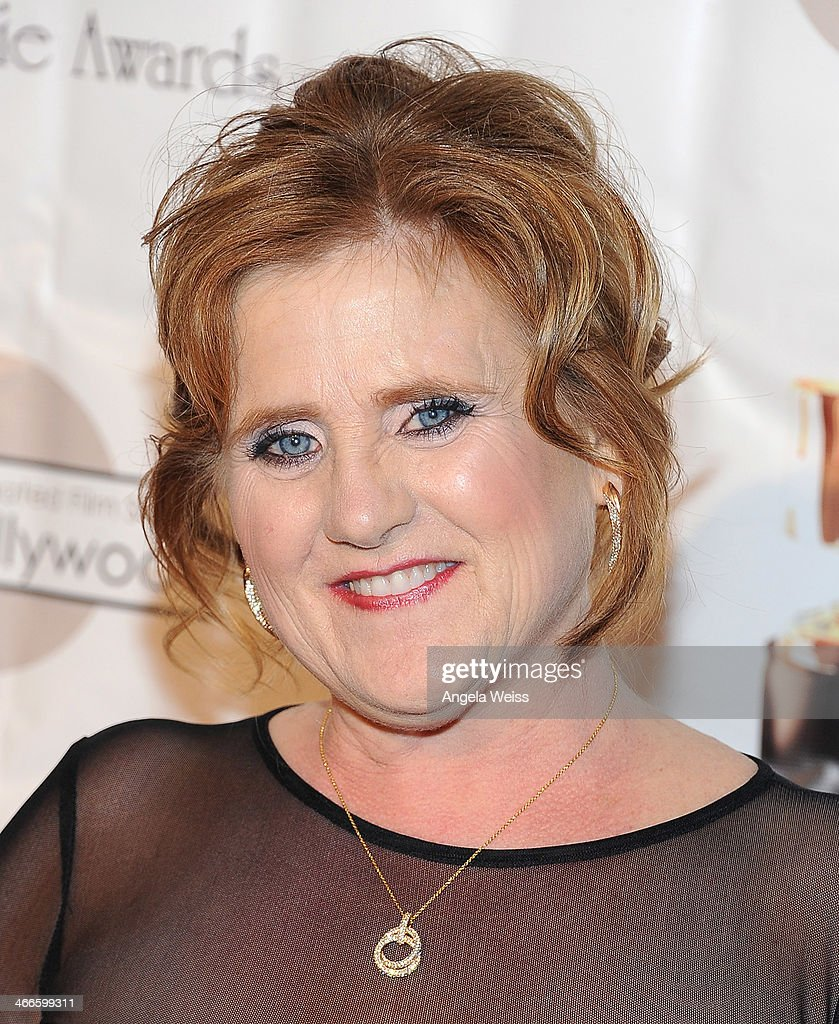 Actress <a gi-track='captionPersonalityLinkClicked' href=/galleries/search?phrase=Nancy+Cartwright&family=editorial&specificpeople=1295775 ng-click='$event.stopPropagation()'>Nancy Cartwright</a> arrives at the 41st Annual Annie Awards at Royce Hall, UCLA on February 1, 2014 in Westwood, California.