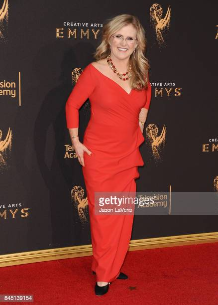 Actress Nancy Cartwright attends the 2017 Creative Arts Emmy Awards at Microsoft Theater on September 9 2017 in Los Angeles California