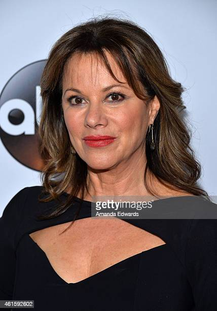 Actress Nancy Lee Grahn arrives at the ABC TCA 'Winter Press Tour 2015' Red Carpet on January 14 2015 in Pasadena California
