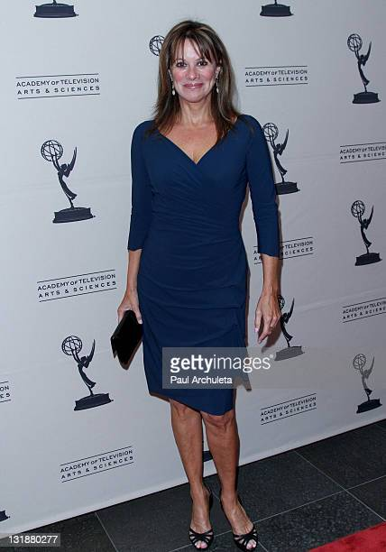 Actress Nancy Lee Grahn arrives at the Academy Of Television Arts Sciences' 2011 Daytime Emmy Awards nominees cocktail party at SLS Hotel on June 16...