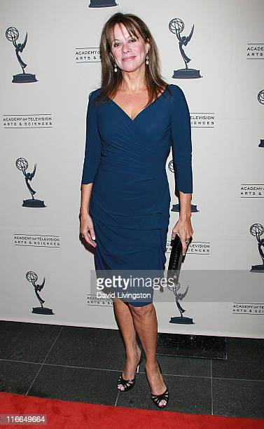 Actress Nancy Lee Grahn attends the 2011 Daytime Emmy Awards nominees cocktail reception at SLS Hotel Beverly Hills on June 16 2011 in Beverly Hills...