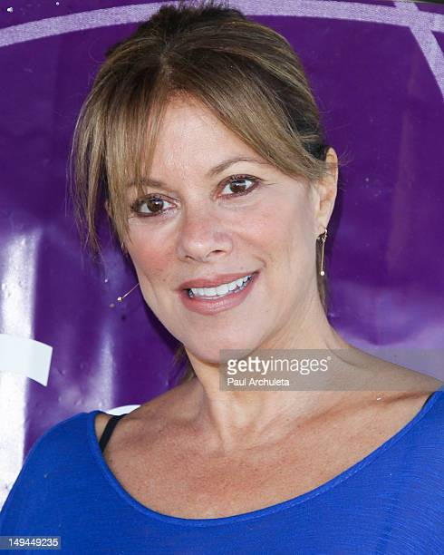 Actress Nancy Lee Grahn attends the Relay For Life Of Hollywood at Helen Bernstein High School on July 28 2012 in Hollywood California