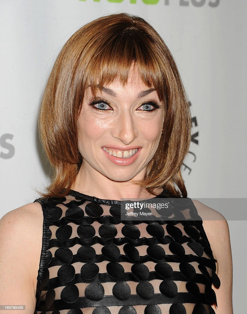 Actress <a gi-track='captionPersonalityLinkClicked' href=/galleries/search?phrase=Naomi+Grossman&family=editorial&specificpeople=7644248 ng-click='$event.stopPropagation()'>Naomi Grossman</a> arrives at the 30th Annual PaleyFest: The William S. Paley Television Festival - Closing Night Presentation honoring 'American Horror Story' at Saban Theatre on March 15, 2013 in Beverly Hills, California.