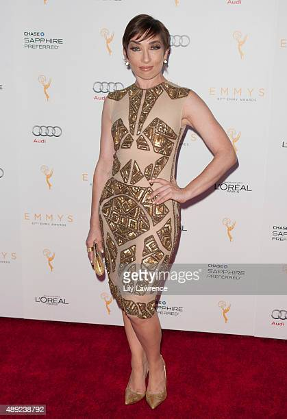 Actress Naomi Grossman arrives at the Television Academy Celebrates The 67th Emmy Award Nominees for Outstanding Performances at Montage Beverly...