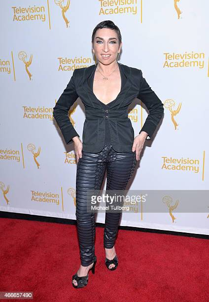 Actress Naomi Grossman attends 'An Evening With The Women Of 'American Horror Story'' presented by the Television Academy at The Montalban on March...