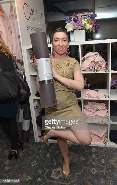 Actress Naomi Grossman attends CALIA By Carrie Underwood Launch Event on March 10 2015 in West Hollywood California