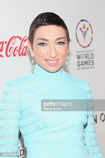 Actress Naomi Grossman attends CW3PR presents Gold Meets Golden at Equinox Sports Club on February 21 2015 in Los Angeles California