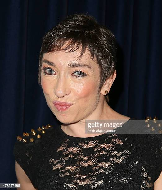Actress Naomi Grossman attends Deadline Hollywood's 2015 Emmy party at The Spare Room on June 9 2015 in Hollywood California