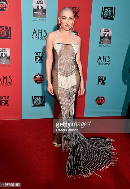 Actress Naomi Grossman attends FX's 'American Horror Story Freak Show' premiere screening at TCL Chinese Theatre on October 5 2014 in Hollywood...