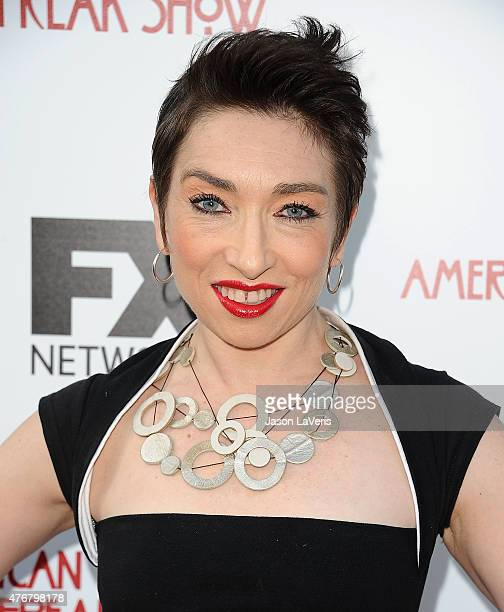 Actress Naomi Grossman attends FX's 'American Horror Story Freakshow' FYC special screening and QA at Paramount Studios on June 11 2015 in Los...