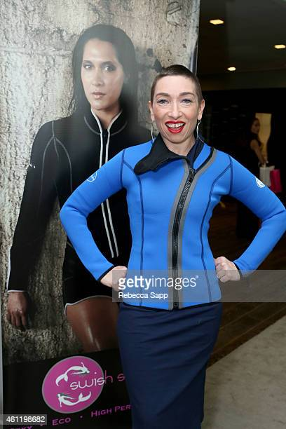 Actress Naomi Grossman attends Kari Feinstein's PreGolden Globes Style Lounge at the Andaz West Hollywood on January 8 2015 in West Hollywood...