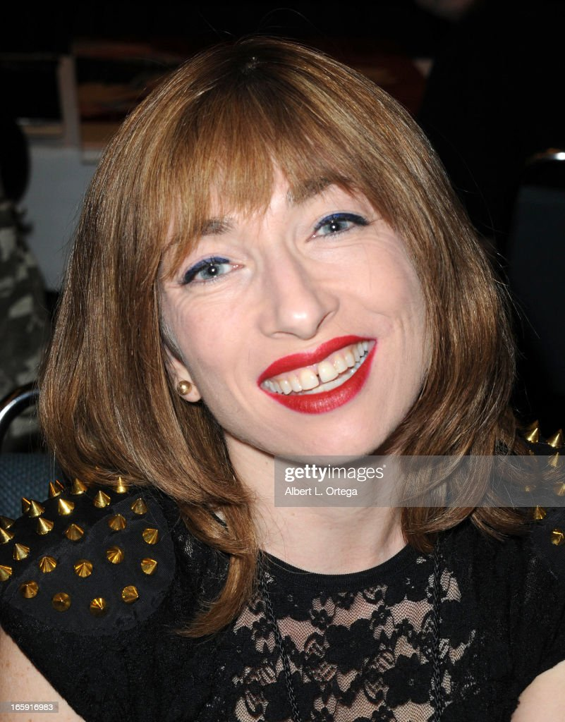Actress <a gi-track='captionPersonalityLinkClicked' href=/galleries/search?phrase=Naomi+Grossman&family=editorial&specificpeople=7644248 ng-click='$event.stopPropagation()'>Naomi Grossman</a> attends Los Angeles' Days Of The Dead Convention Day Two held at Los Angeles Convention Center on April 6, 2013 in Los Angeles, California.