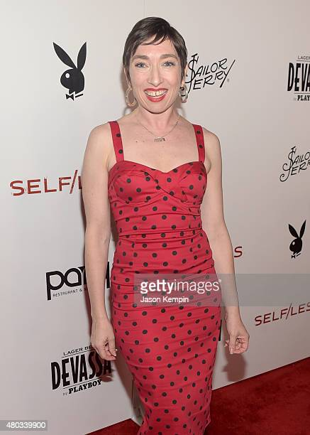 Actress Naomi Grossman attends Playboy and Gramercy Pictures' Self/less party during ComicCon weekend at Parq Restaurant Nightclub on July 10 2015 in...